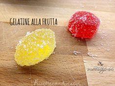 Ricetta gelatine alla frutta