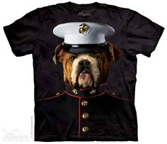 The Mountain - Bulldog Marine T-Shirt, $20.00 (http://shop.themountain.me/bulldog-marine-t-shirt/)