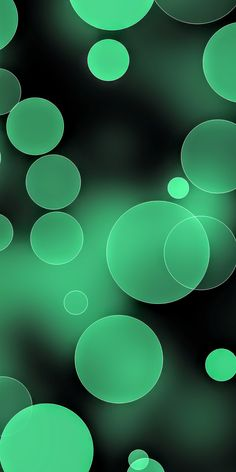 By Artist Unknown. Mobile Wallpaper, Wallpaper Backgrounds, Iphone Wallpaper, Creative Thinking, Aesthetic Wallpapers, Dots, My Favorite Things, Abstract, Green