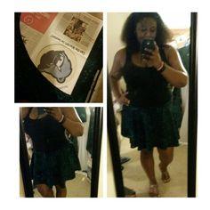 Circle skirt #diy #sew #sewdiy #sewcircleskirt #summertime #fun #clothes #fashion #diyclothes #circleskirt