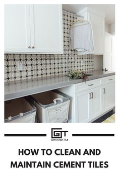 Although years may pass, your cement tiles will always shine when you follow these cleaning tips. #tilecleaning #maintenancetips #cleancementtiles Builder: DRVO Builders Designer: Michelle Lisac Interior Design Photographer: Jennie Corti Photography