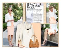 How We Dress for Work by daiscat on Polyvore featuring Vero Moda, Topshop, Elizabeth and James, Christian Louboutin, Black Rivet and Vince Camuto