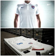 USA 2014 Home Soccer Jersey