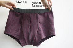 john ist ein Gemeinschaftsprojekt von Anja/Schnittreif und Monika/mo.ni.kate    john ist eine enganliegende Pants für Männer. Mit gedoppeltem Einsatz