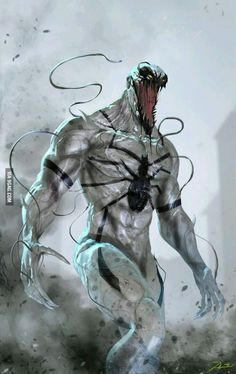 One of Marvel's most enigmatic, complex and badass characters comes to the big screen, starring Academy Award-nominated actor Tom Hardy as the lethal protector Venom. Marvel Venom, Marvel Villains, Marvel Comics Art, Bd Comics, Marvel Vs, Marvel Heroes, Deadpool Wolverine, Venom Comics, Captain Marvel