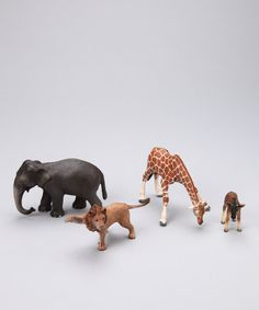 Take a look at this Wildlife Set by Schleich on #zulily today!