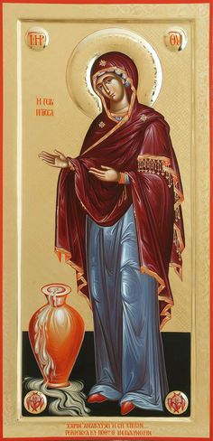 Byzantine Icons, Byzantine Art, Church Icon, Jesus Christ Images, Mama Mary, Virgin Mary, Orthodox Icons, Blessed Mother, Mother Mary