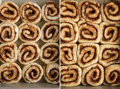 It's official, I am pretty sure I hate taking pictures of cinnamon rolls more than anything. They just aren't very photogenic for me... but on the other ha