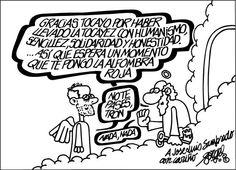 Viñeta: Forges despide a Sampedro - 9 ABR 2013