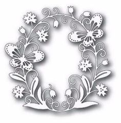 Tutti Designs - Cutting Die - Butterfly Oval