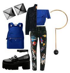 """universe"" by ilseok on Polyvore featuring Dolce&Gabbana, Miss Selfridge, Michael Kors, Balenciaga, STELLA McCARTNEY and Waterford"