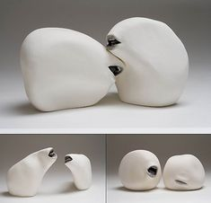 clay sculptures by Ronit Baranga  i love these guys :)
