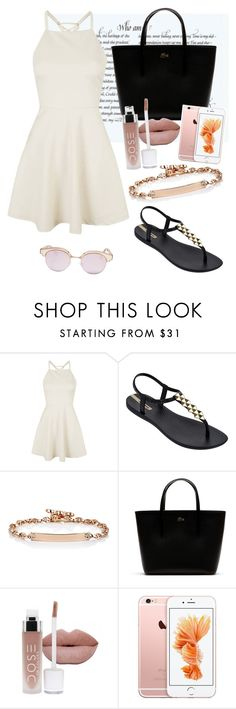 """""""Sem título #69"""" by takensasa ❤ liked on Polyvore featuring Topshop, IPANEMA, Hoorsenbuhs, Lacoste and Le Specs"""