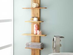 etagere-salle-de-bain-en-bois-colonne-bains-meuble-rangement-murale
