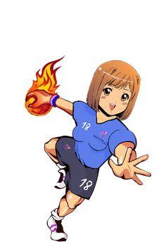 Chica Handball asturiascbalonmano