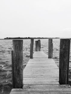 Small pier behind Provisions restaurant in South Port, North Carolina.