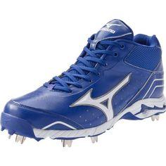 Mizuno Men's Mizuno Advanced Classic 7 Baseball Shoe - Royal-White, 15 D(M) US Mets Baseball, Baseball Shoes, Baseball Cleats, Softball, Athletic Women, Athletic Shoes, Footwear, Classic, Sneakers