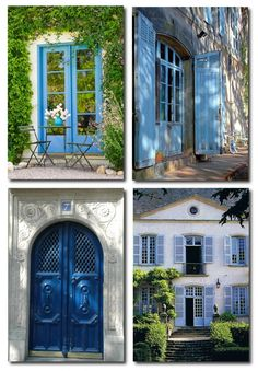 Provence In Blue Painted Provence Furniture, French Provence, French Provincial, Louis XV Furniture, French Style, Country French, French Country, Painted Furniture, , Rustic Painted Furniture