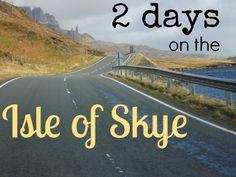 Un itinéraire sur l'Ile de Skye pour 2 jours: quels sont les endroits à ne pas manquer? Conseils et astuces, durée et distances entre les points d'intérêt, pour que vous profitiez au maximum!