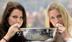 Lucie Šafářová a Petra Kvitová, trojnásobné vítězky Fed Cupu