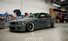 BMW E46 M3 with Hartge front lip