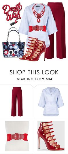 """""""Untitled #819"""" by mrsdarlene ❤ liked on Polyvore featuring The Row, Style & Co., Gucci, women's clothing, women, female, woman, misses and juniors"""