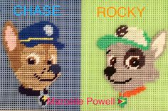 Paw Patrol (CHASE & ROCKY) by Marcelle Powell ❤️