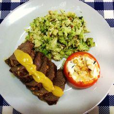 Almoço de Domingo Pt. 2 - Saladinha de Couve Flor com Brócolis