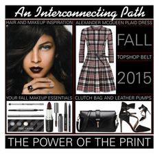"""""""Plaid - The interconnecting Path In Fashion"""" by latoyacl ❤ liked on Polyvore featuring Rebecca Minkoff, Alexander McQueen, Bobbi Brown Cosmetics, Voom, Burberry, Anastasia Beverly Hills and Topshop"""