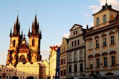 T´yn Church in Prague Travel Around The World, Around The Worlds, Prague, Barcelona Cathedral, How To Plan, Country, City, Happy, Pura Vida