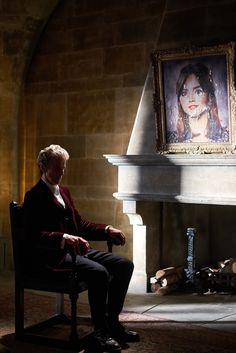 """Blogtor Who: Doctor Who Series 9: """"Heaven Sent"""" gallery. Peter Capaldi and Clara. This photo is torture."""