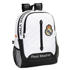 Shop powered by PrestaShop Real Madrid And Barcelona, Laptop Backpack, My Bags, School Bags, Diy Fashion, Packing, Backpacks, Football Bags, Shopping