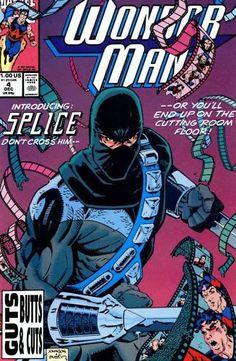 Wonder Man Vol. 2 # 4 by Jeff Johnson & Terry Austin Book Cover Art, Comic Book Covers, Comic Books Art, Comic Art, Mask Film, Wonder Man, Classic Comics, Dc Comics, Spiderman