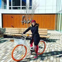 Our lovely resident taking one of our Fuse branded bikes out for a spin on this warm(ish) day! #minutemanbikepath #CambMA #lovewhereyoulive #myfusefit by fusecambridge February 19 2016 at 09:16AM