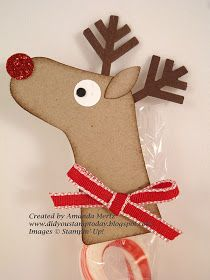 Did You Stamp Today?: Rudolph the Red Nosed Reindeer Treat