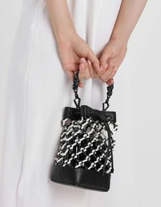Charles & Keith Online Store offers the latest fashion-forward ladies footwear and accessories for the chic and stylish. Bucket Bags, Floral Denim, Charles Keith, Polka Dot Print, The Chic, Lace Detail, Fashion Forward, Crossbody Bag, Shoulder Bag