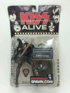 KISS Alive SPAWN Super Stage Figure GENE SIMMONS McFarlane Toys THE DEMON #McFarlaneToys