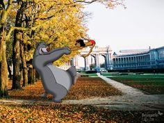 Tout juste échappés de leurs studios californiens, 25 personnages de Walt Disney ont envahi Bruxelles. Loin de leur univers familier, ils n'ont pas tardé à trouver leurs marques. Tandis que la Belle et son Clochard s'attablent dans l'Ilôt Sacré, Merlin tente d'enchanter la place du Jeu de Balle et les 101 Dalmatiens découvrent le Zinneke-Pis.