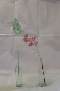 Painted Pastel Flowers – Keeping it simple, making it minimalistic Gold Spray Paint, Pastel Flowers, Gold Line, Keep It Simple, Glass Vase, Color, Blush Flowers, Colour, Colors