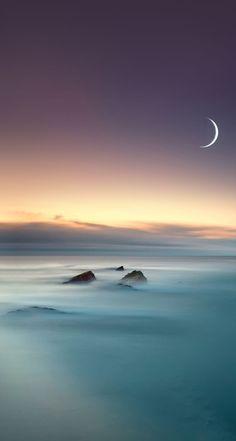 Scenic Lake Fog Mist Moon Eclipse iOS 8 5 - Wallpaper World Iphone 5 Wallpaper, Ios Wallpapers, Pretty Wallpapers, Wallpaper Backgrounds, Hd Desktop, Amazing Backgrounds, Iphone Backgrounds, Mobile Wallpaper, Landscape Wallpaper
