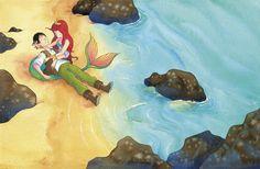 Confira meu projeto do @Behance: \u201cThe Little Mermaid\u201d https://www.behance.net/gallery/53511819/The-Little-Mermaid