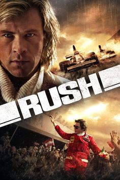 Rush - thrilling movie of the rivalry in formula 1 between James Hunt and Niki Lauder