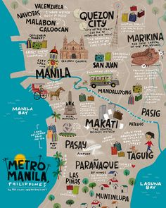 Great travel poster for Manila!