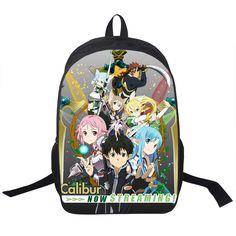 $25.40 (Buy here: https://alitems.com/g/1e8d114494ebda23ff8b16525dc3e8/?i=5&ulp=https%3A%2F%2Fwww.aliexpress.com%2Fitem%2FSword-Art-Online-Backpack-For-Teenager-Boys-Girls-School-Backpack-Asuna-Asada-Shino-Backpacks-Women-Men%2F32677370460.html ) Sword Art Online Backpack For Teenager Boys Girls School Backpack Asuna Asada Shino Backpacks Women Men Bag Kids School Bags for just $25.40
