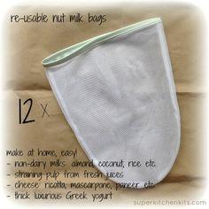 Nut Milk Bag Bulk (12)