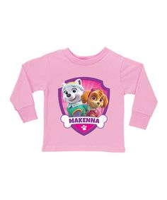 PAW Patrol Skye & Everest Personalized Tee - Toddler & Girls