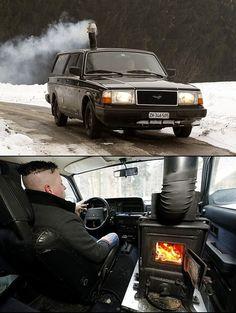 Russian car heater