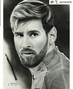 Pencil Sketch Portrait, Portrait Sketches, Art Drawings Sketches, Abstract Pencil Drawings, Realistic Pencil Drawings, Neymar Jr Brazil, Violett Parr, Messi Drawing, Messi Pictures