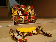 Ankara bag, African print bag, clutch, wedge,p Ankara Bags, African Accessories, Trendy Collection, Printed Bags, Printing On Fabric, Messenger Bag, Satchel, Heels, Wedge