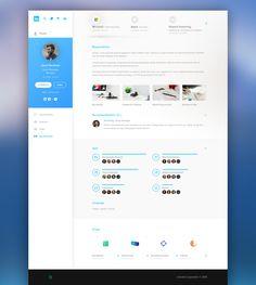 Linkedin Redesign on Behance